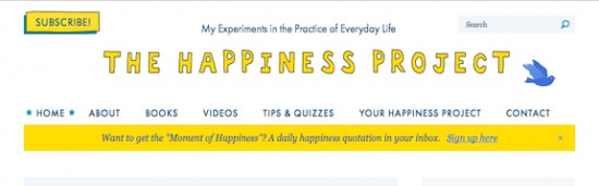 The Happiness Project, Happier at Home, Gretchen Rubin