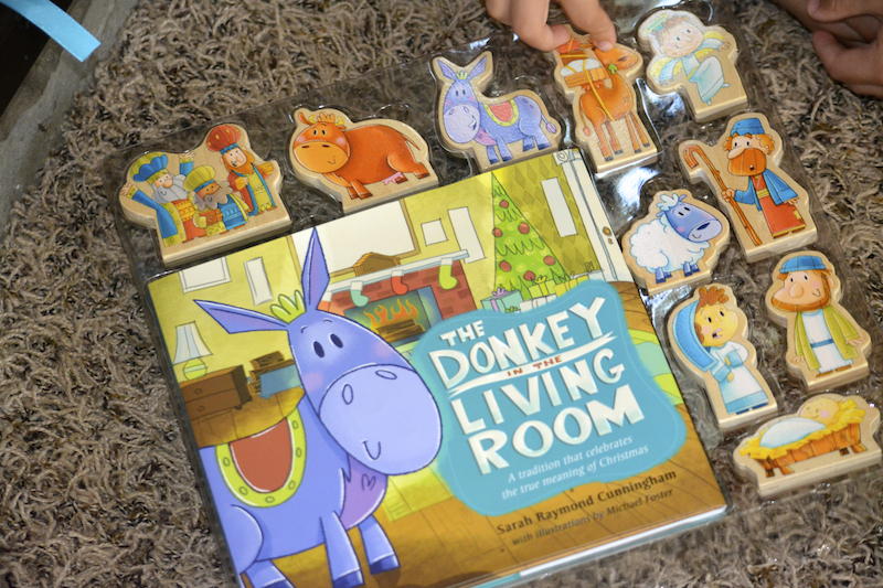 Family Christmas Giveaway The Donkey In The Living Room