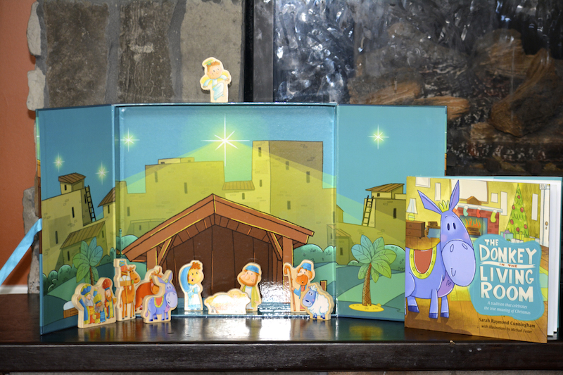 Best Christmas Book For Kids The Donkey In The Living Room